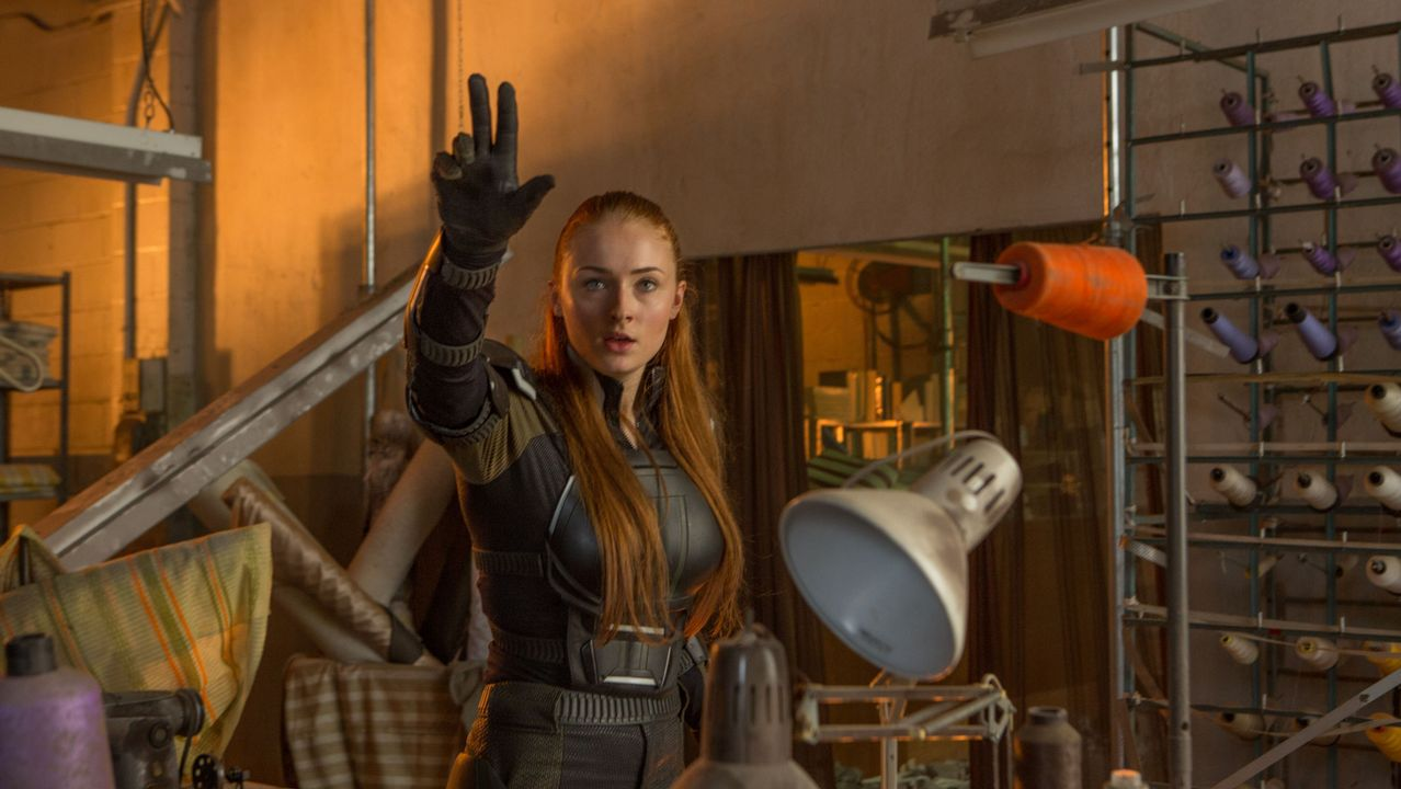 La actriz Sophie Turner (la Sansa Stark de «Juego de tronos»), en una escena del filme dirigido por Simon Kinberg