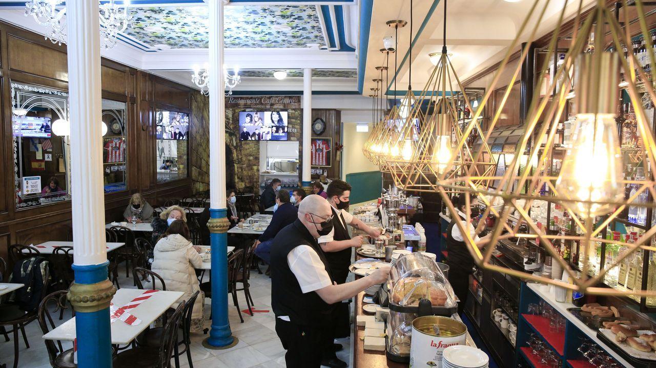 El Café del Centro, situado en Lugo