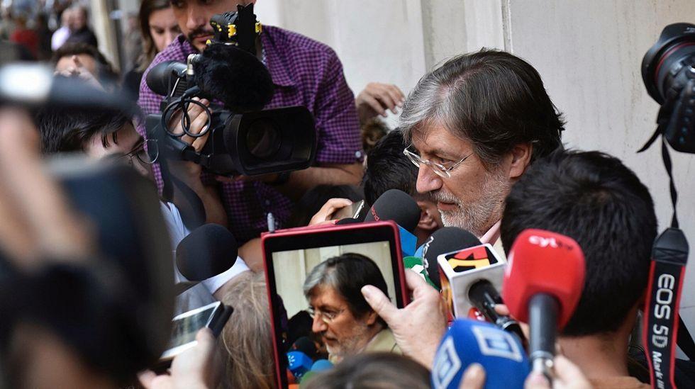Rebeldes en el PSOE.Iceta y Parlón, este lunes en Barcelona