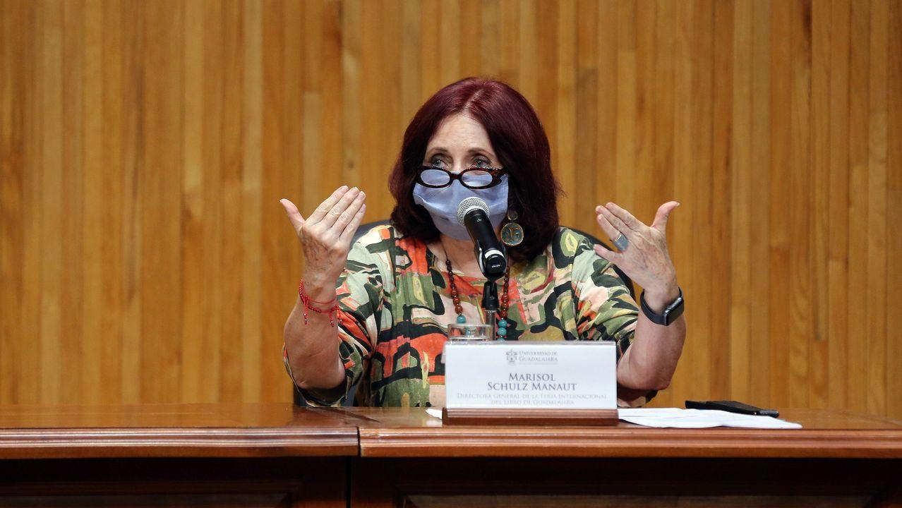 La directora de la Feria Internacional del Libro (FIL), Marisol Schulz. La FIL ganó el premio Princesa de Asturias de Comunicación en 2020