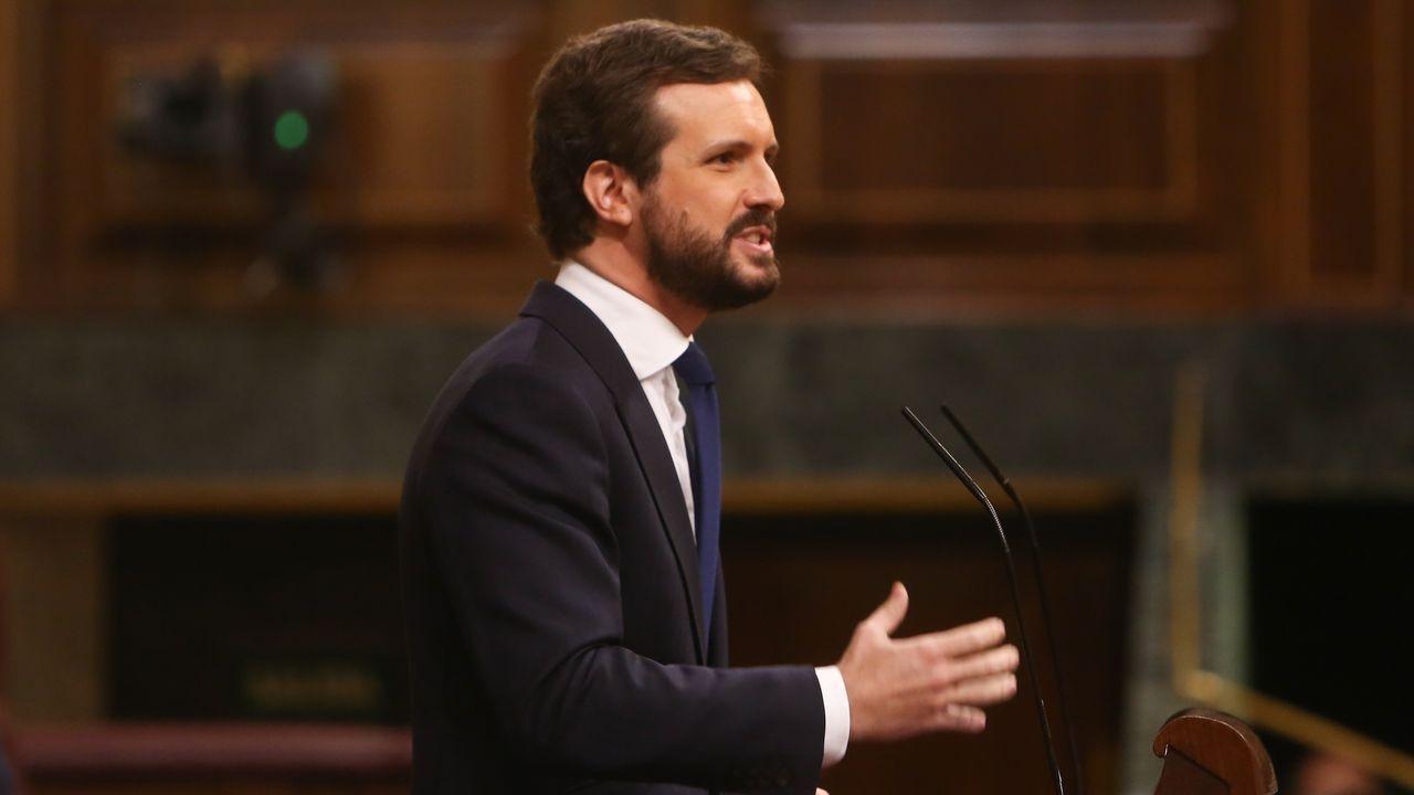 En directo:Votación de la prórroga del estado de alarma.Isidro Martínez Oblanca