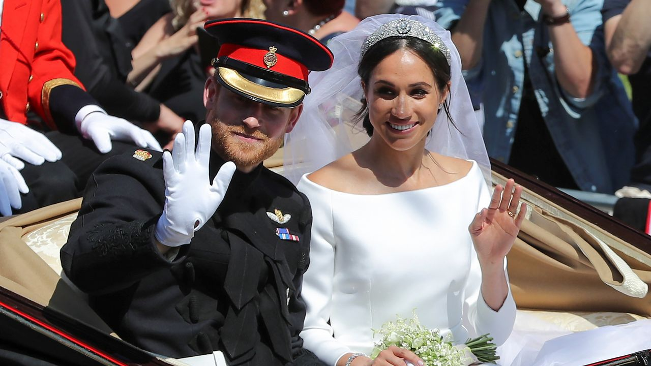 El príncipe Harry y Meghan Markle se dan el «sí quiero»