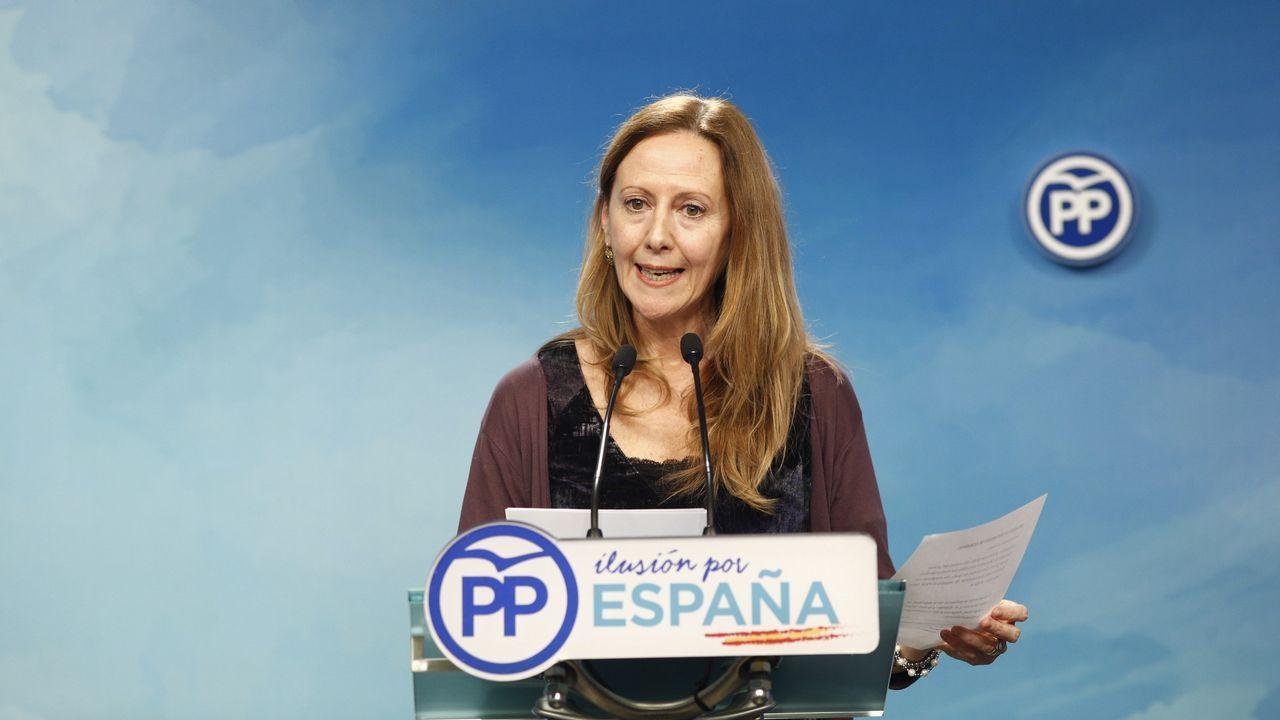 La convención del PP, en imágenes.La vicesecretaria de Comunicación del PP, Marta González, confirmó la asistencia de Aznar y Rajoy a la convención.