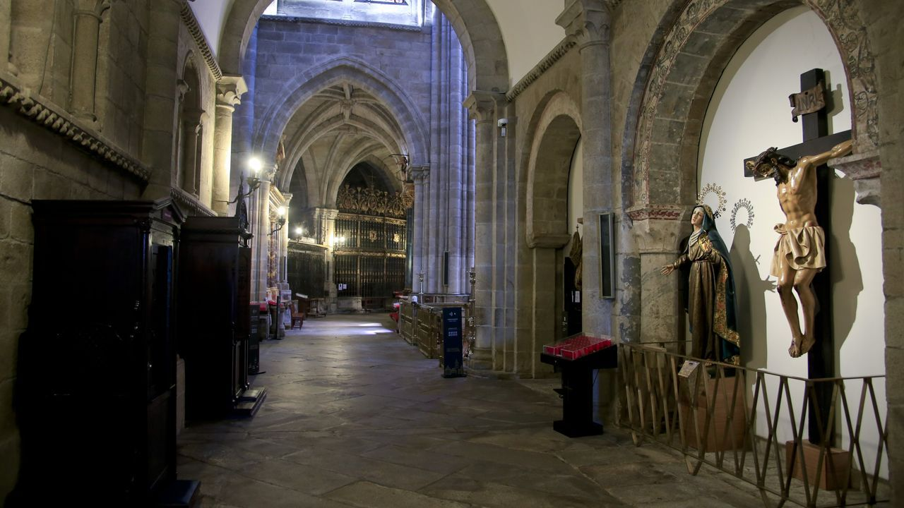 Catedral de Lugo, vacía