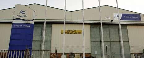 El astillero de Fene lleva un año paralizado, desde que fabricó los últimos bloques para los destructores australianos.