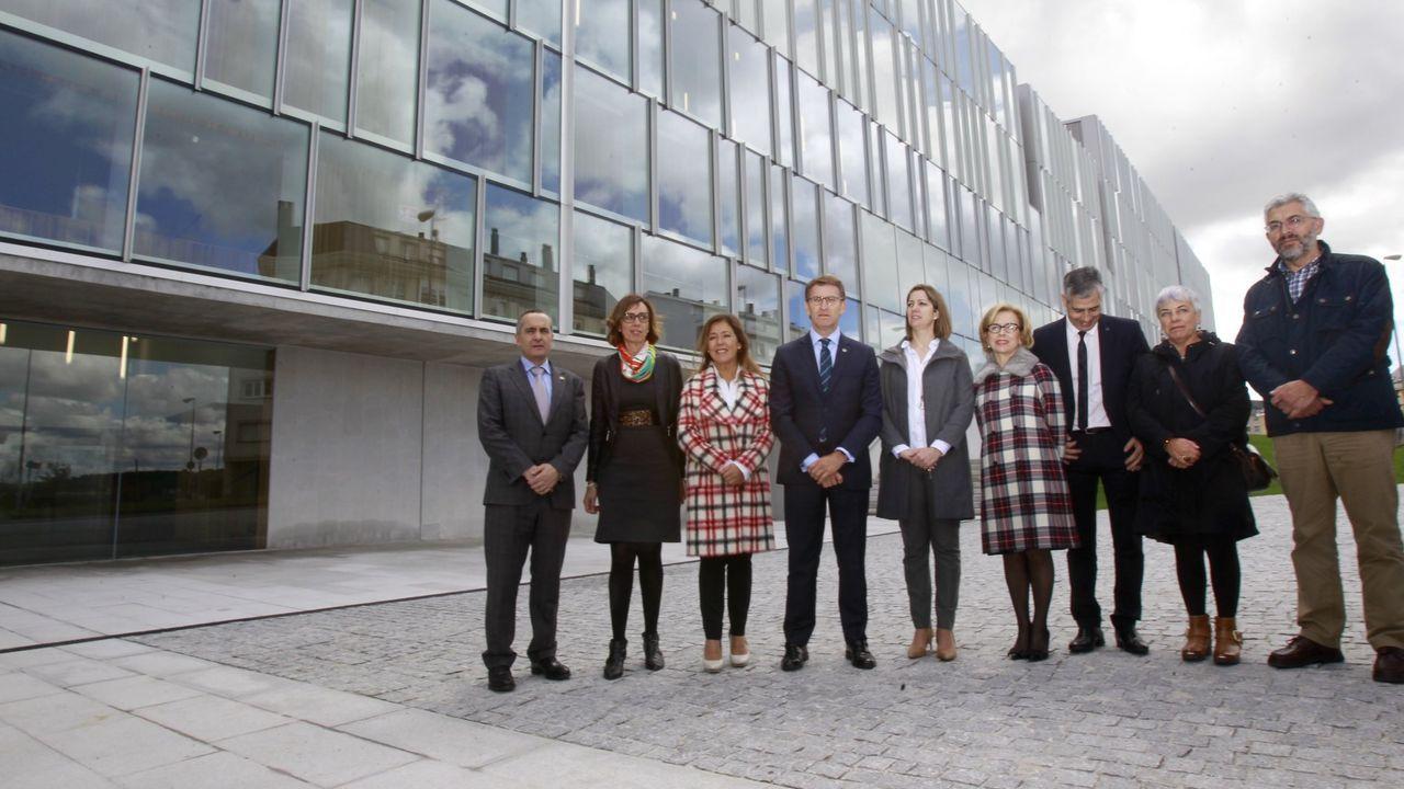 Así es el nuevo auditorio de Lugo.Visita institucional celebrada en abril del 2016