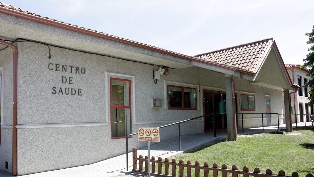 En Rairiz de Veiga se acondicionó la cubierta del centro de salud