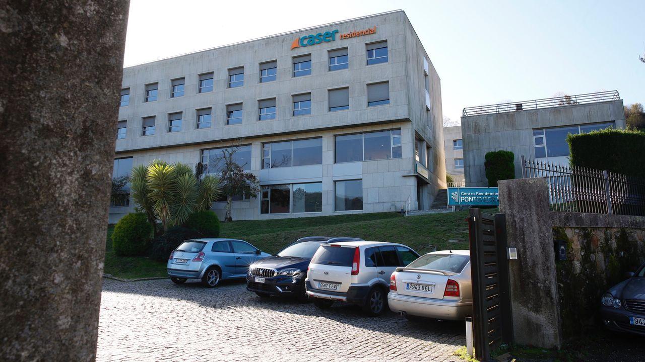 El centro de salud Virxe Peregrina, de Pontevedra, es uno de los siete del área sanitaria que ya realizan test rápidos de antígenos para diagnosticar el covid-19