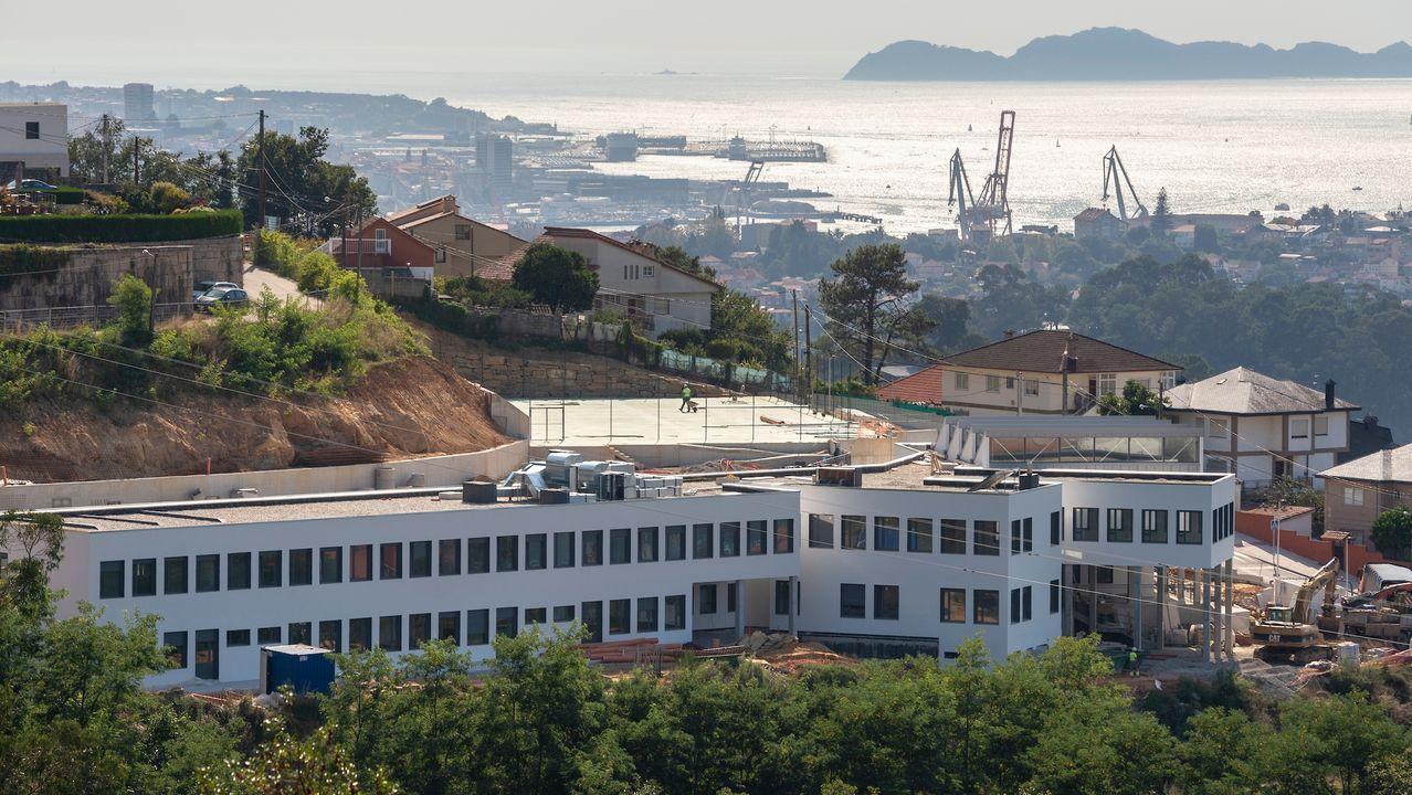 El nuevo colegio de Chapela