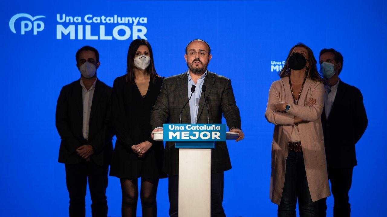 Adiós a Génova, la sede emblemática del PP.Alejandro Fernández, candidato del PP a la Generalitat