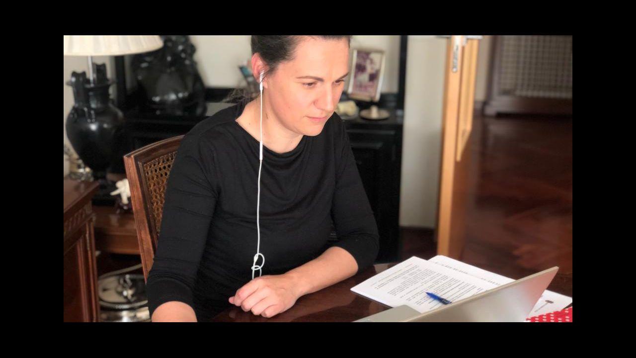 Silvia García, responsable del área de Benestar de la Diputación de Lugo