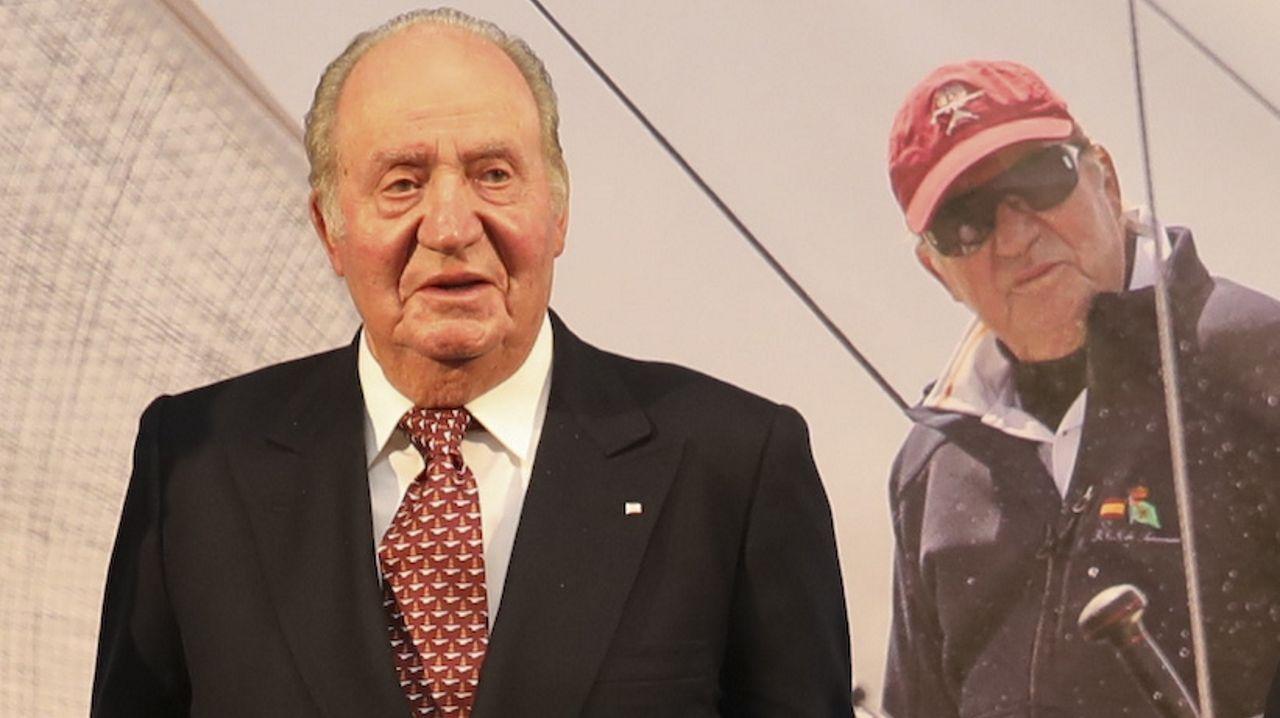 La celebración del Día de la Constitución, en imágenes.Juan Carlos I, en una imagen de febrero del 2020