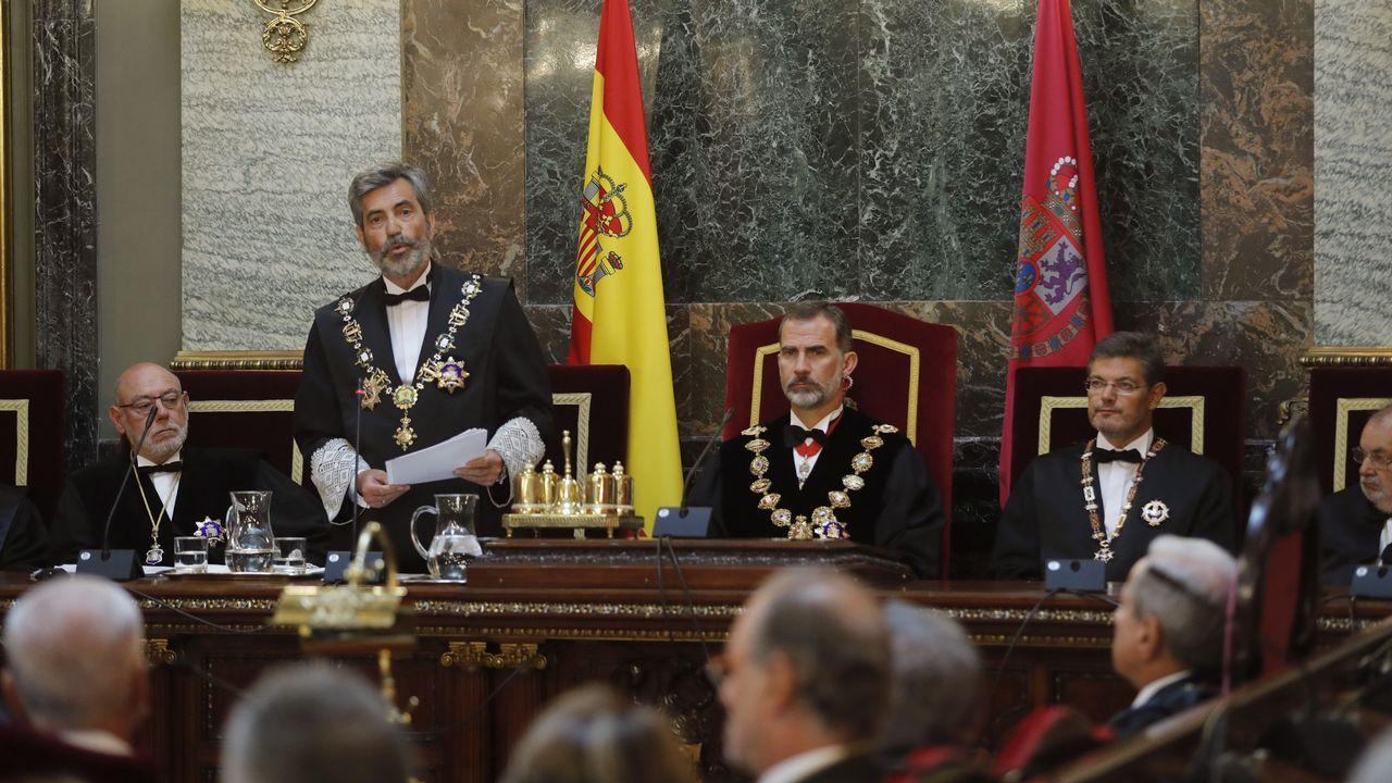 Maza promete que la Fiscalía actuará «serena» pero «firme» contra los independentistas catalanes