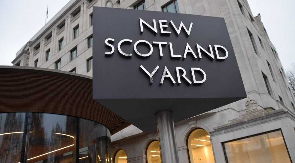 Sede de Scotland Yard, en Londres