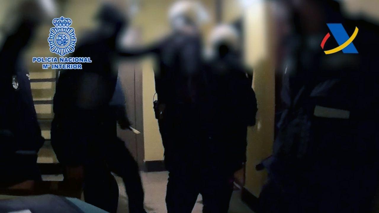 La Policía desarticula una red de trata de mujeres.Imagen de archivo de una patrulla de la Policía Nacional