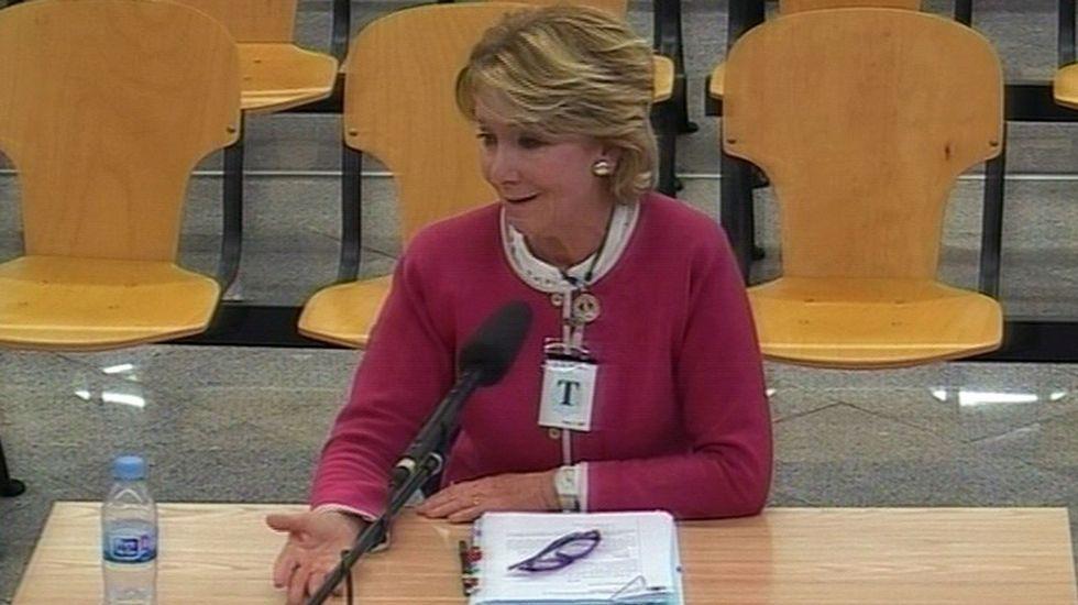 El 20 de abril del 2017, acudió a declarar como testigo en el macrojuicio del caso Gürtel.