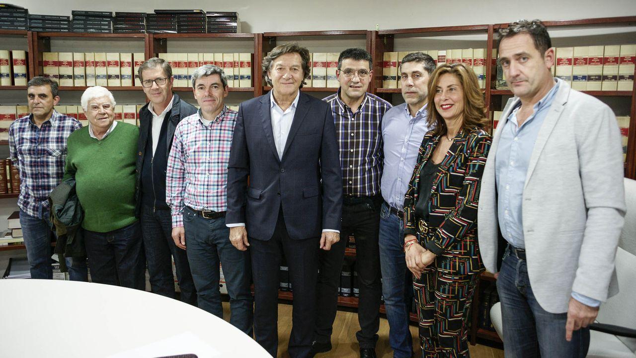 Premios Grelo de Ouro.La alcaldesa, Elvira Lama, visitó la depuradora acompañada de personal de Viaqua