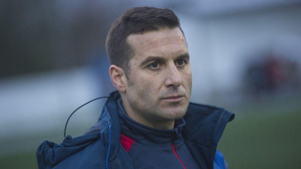 Borja Facal, exfutbolista del Bergantiños y coordinador de las bases