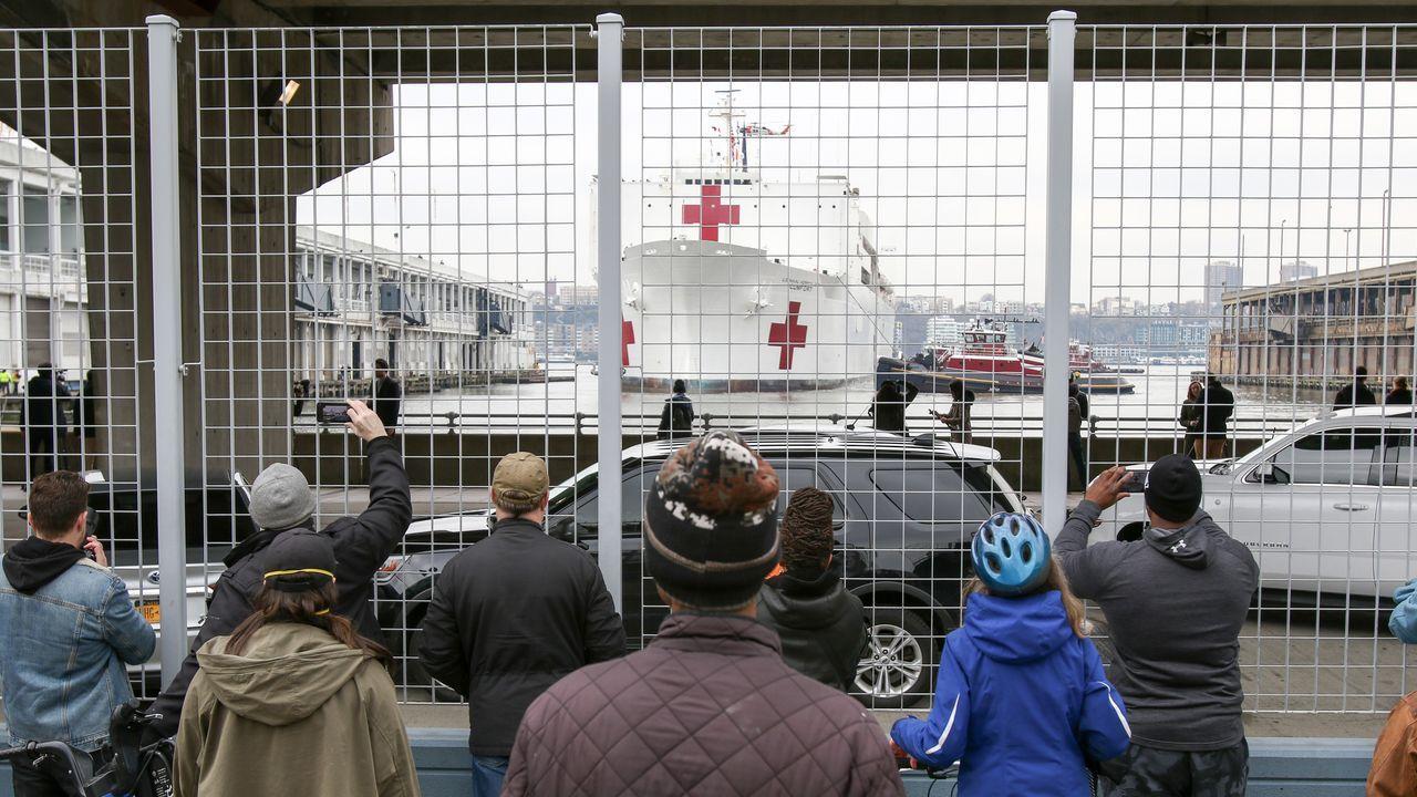 El estado de Nueva York es el más golpeado por la pandemia en Estados Unidos