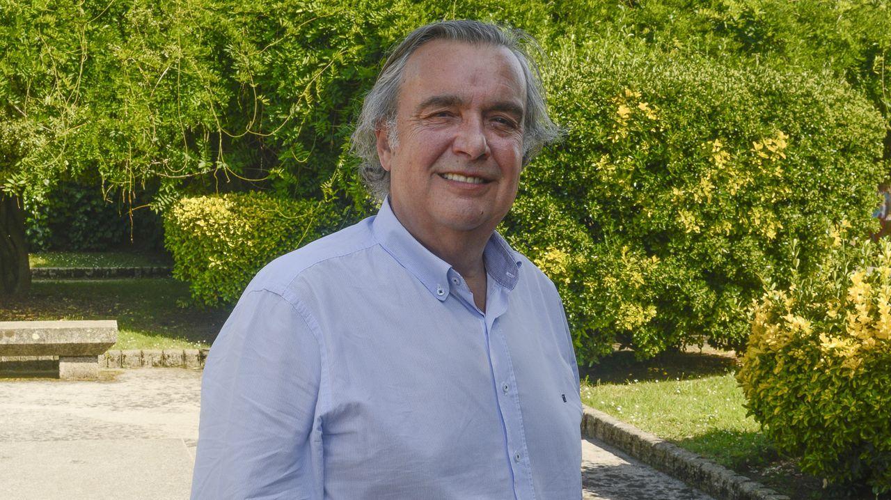Padre Ángel.El senador ferrolano Juan Juncal