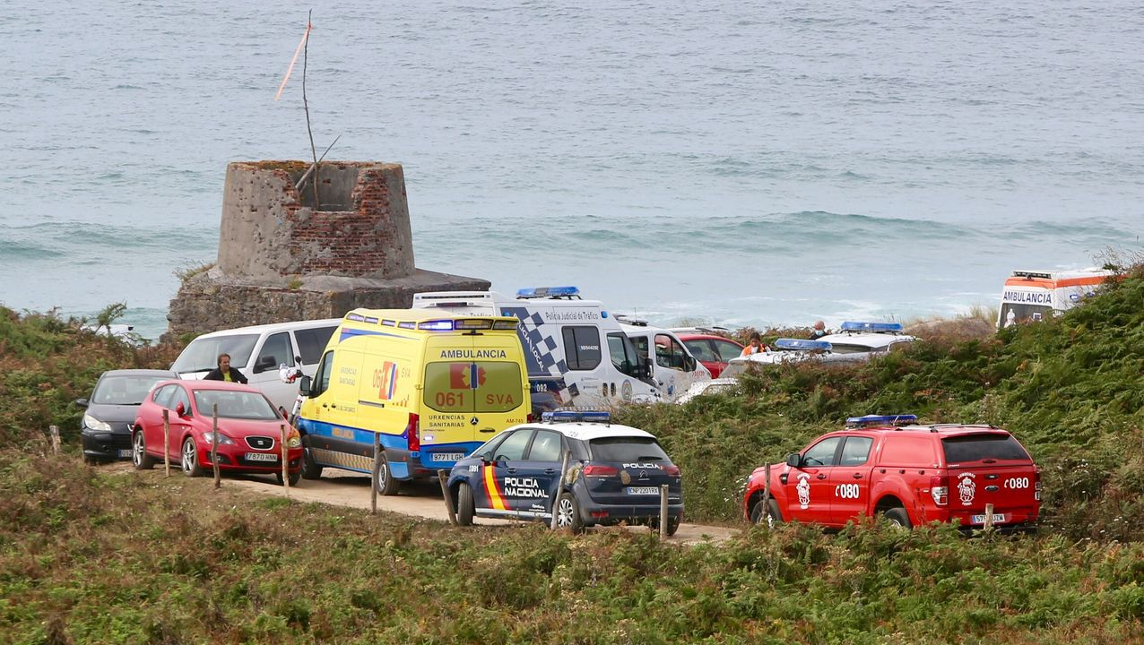 Vendimia en tiempos de coronavirus.Operativo para un ahogado en Ferrol este pasado fin de semana