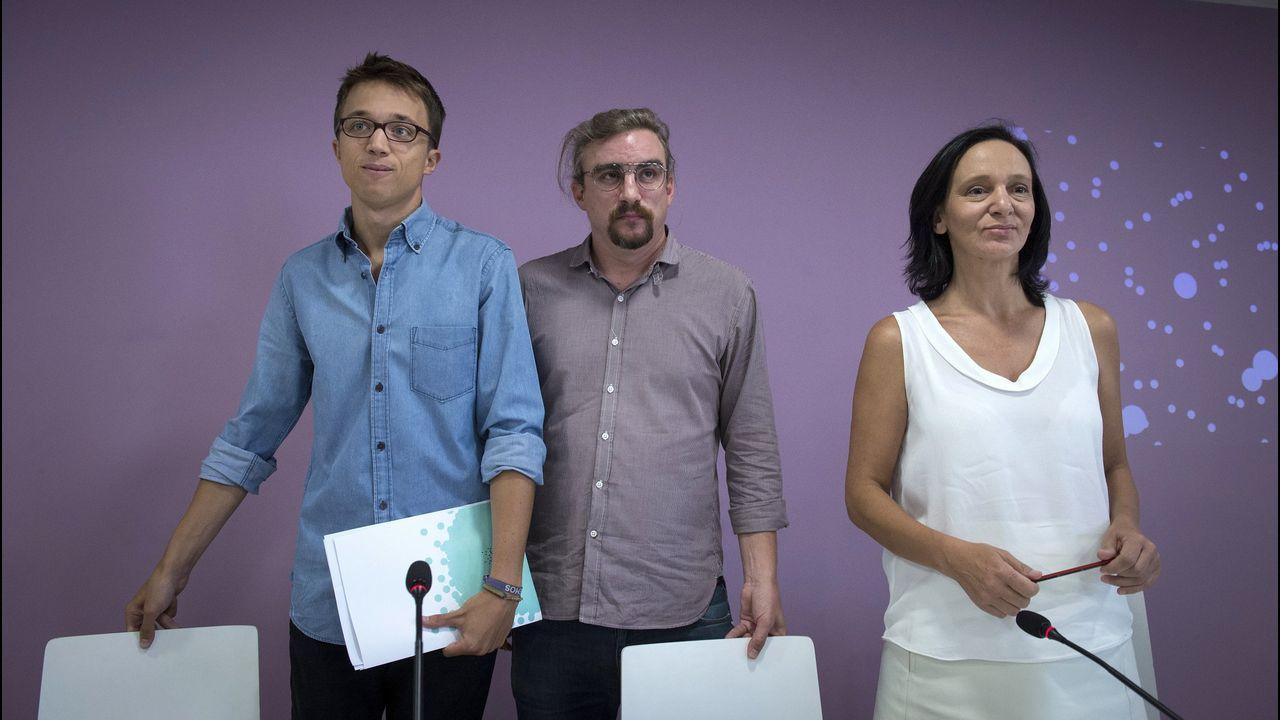 Bescansa y Errejón cuando ambos todavía formaban parte de Podemos