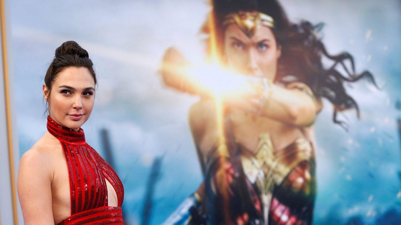 La actriz israelí Gal Gadot alcanzó fama mundial por su pael en la película  La mujer maravilla