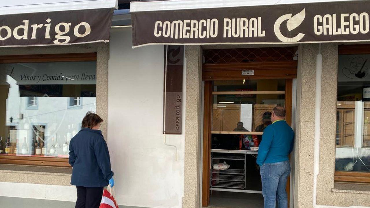 El responsable de la Fupro, en su despacho del cuartel de A Graña, en Ferrol