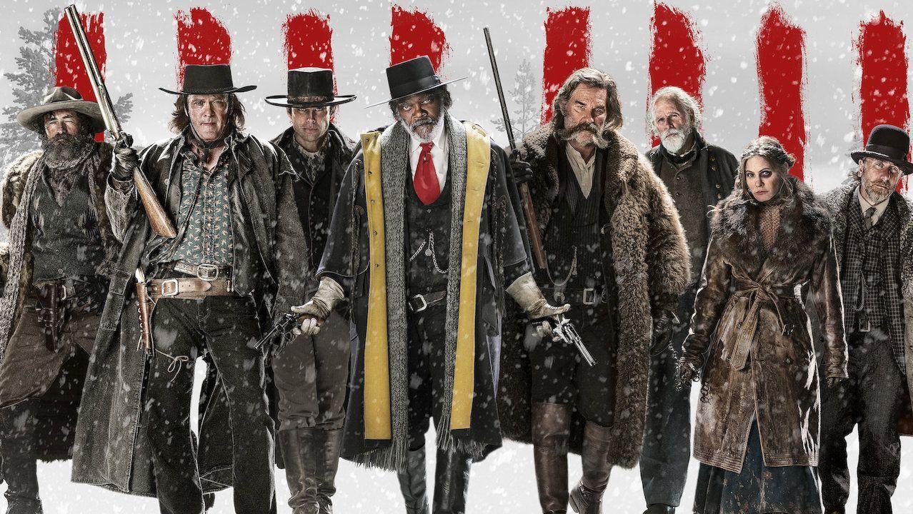Cartel de la película «Los odiosos ocho», de Tarantino.