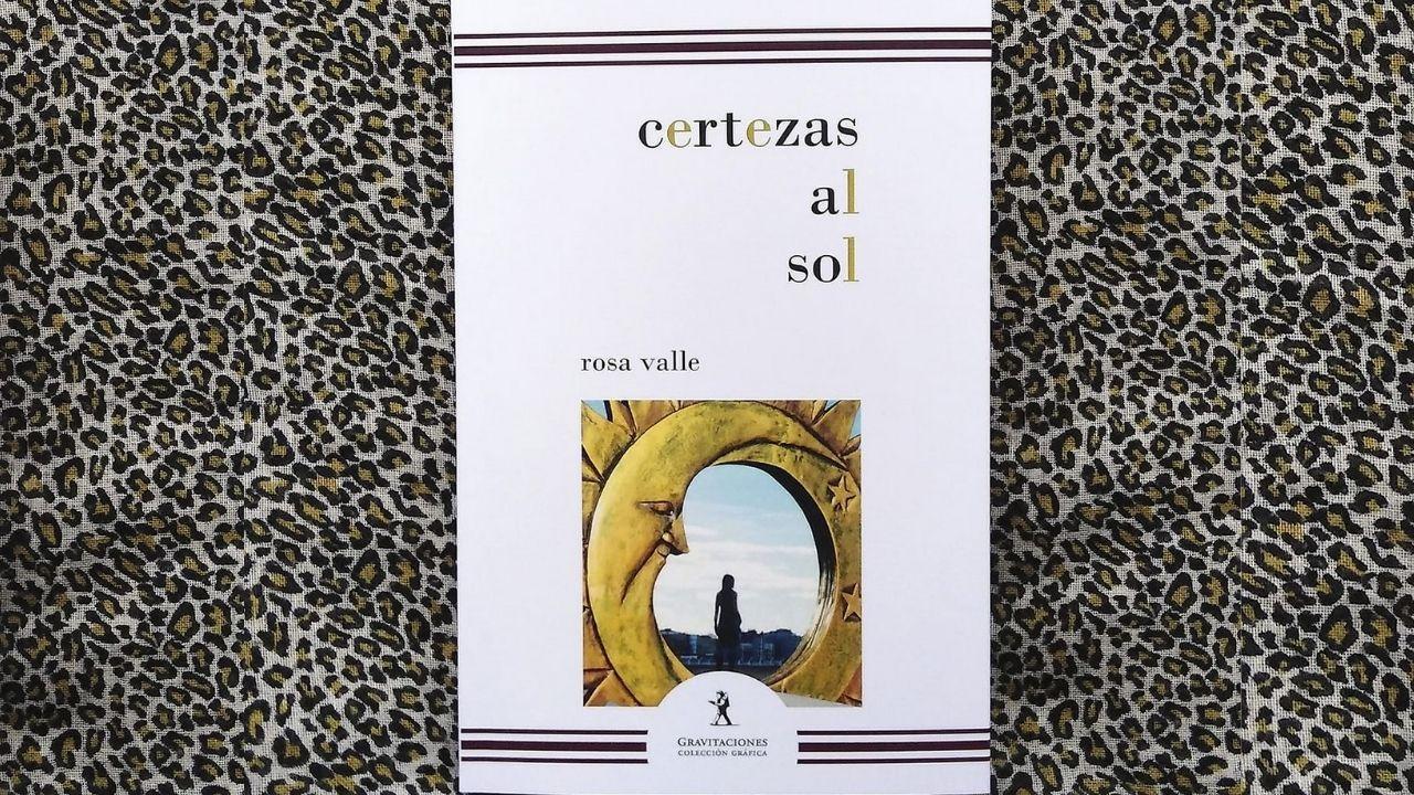 Portada del nuevo poemario de Rosa Valle