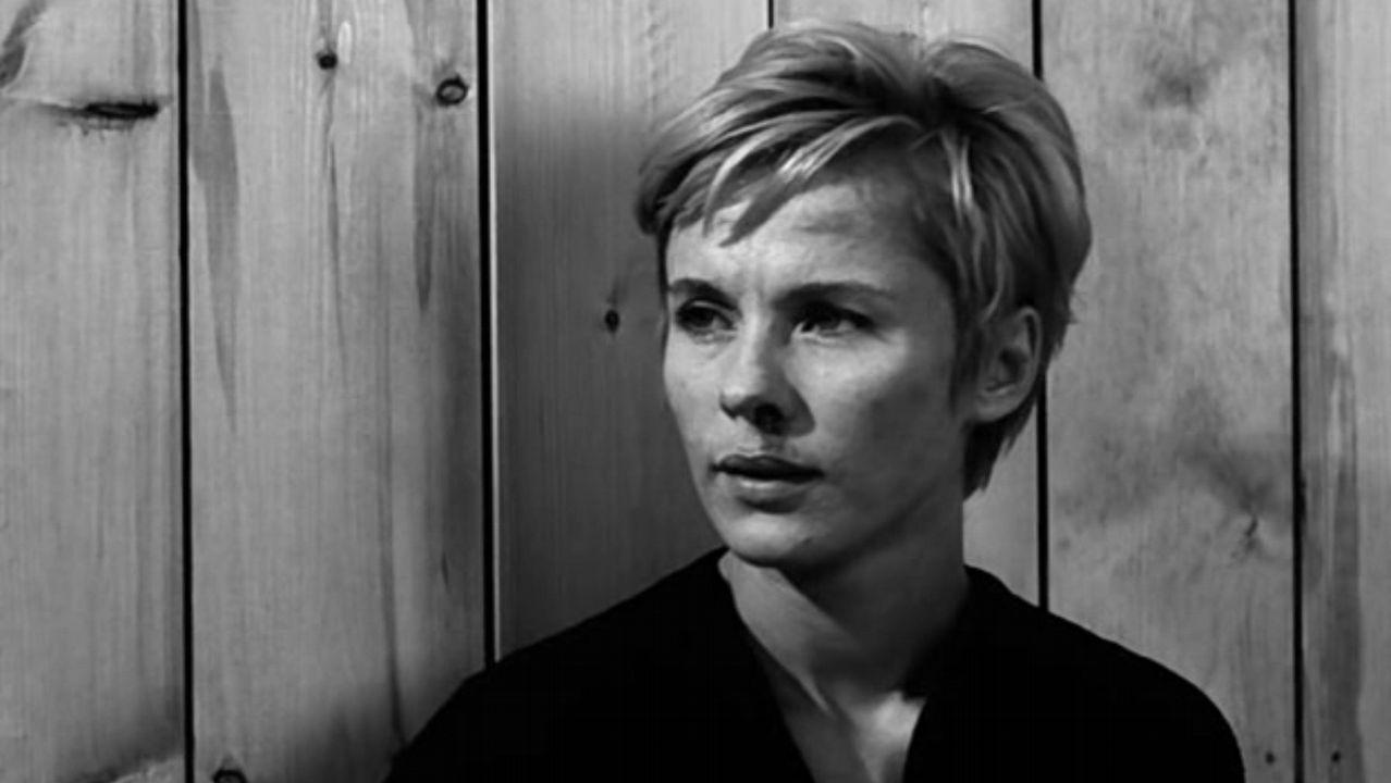Bibi Andersson, en «Persona», uno de sus trabajos con Ingmar Bergman