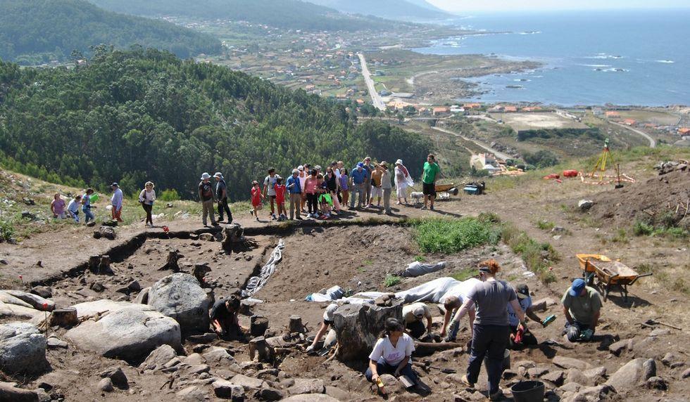 Las visitas son una ocasión única para poder asistir en vivo a una excavación arqueológica.