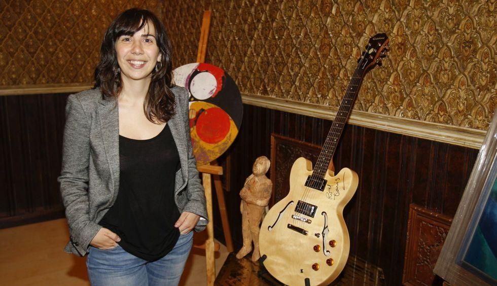 María Díaz presentou a nova campaña de sensibilización de Médicos Sin Fonteras en Santiago.