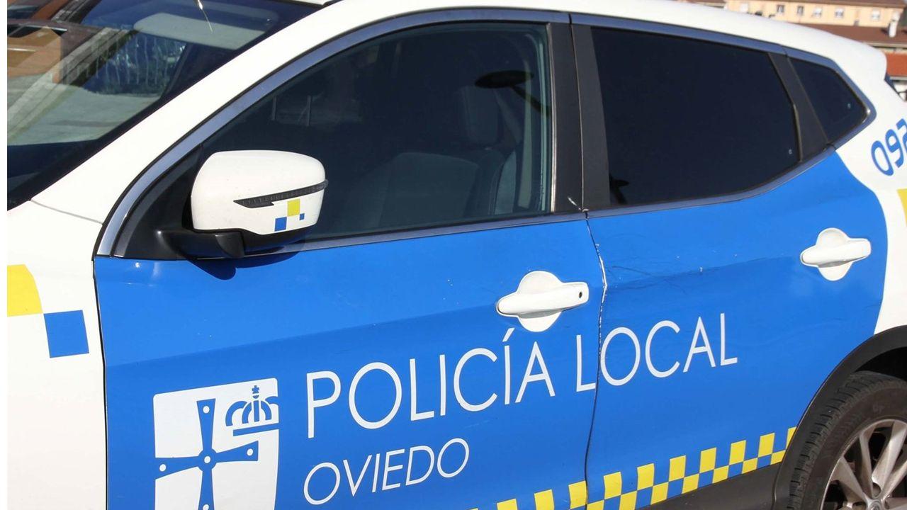 Villa Magdalena.Policía Local Oviedo