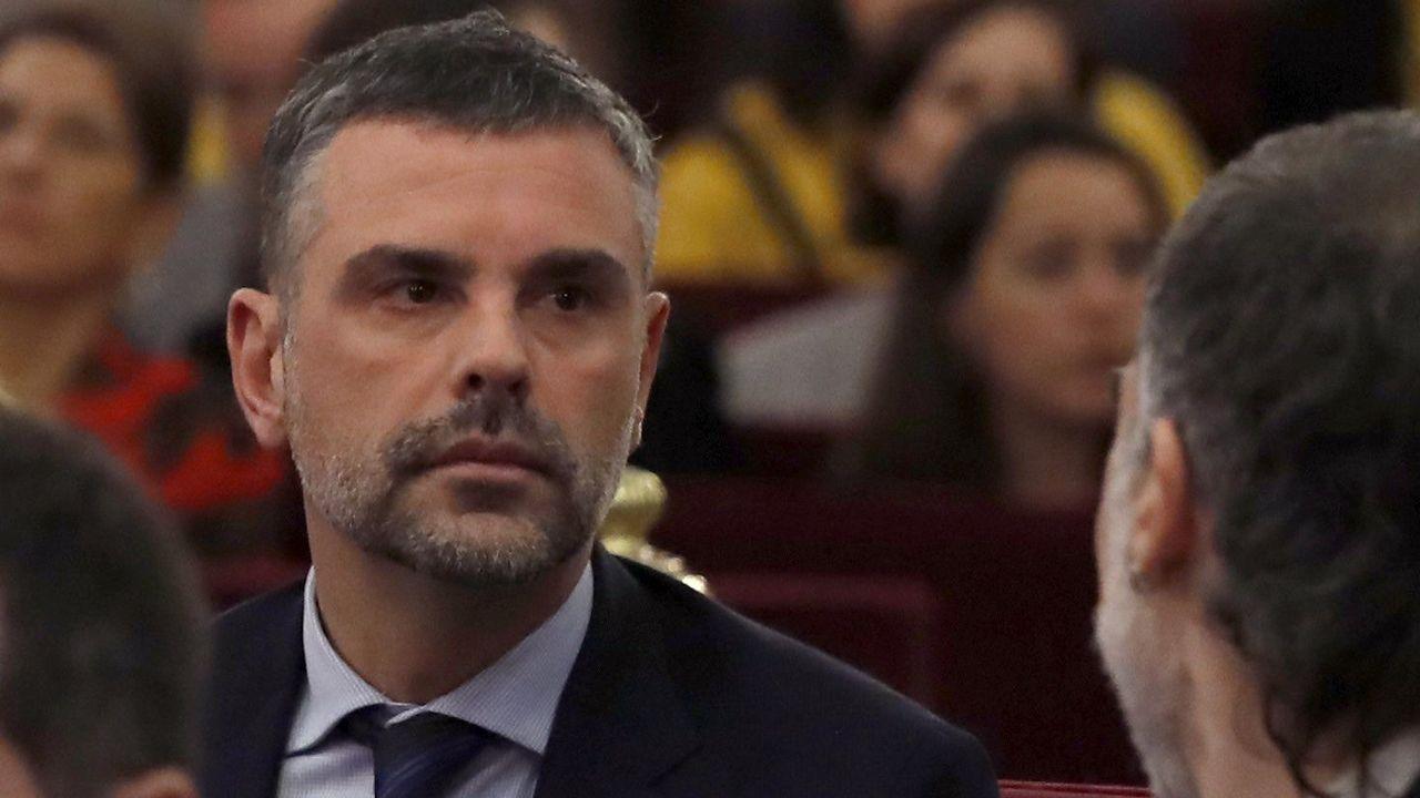 Santiago Vila. Exconsejero de Cultura y luego de Empresa, está acusado de desobediencia y malversación.