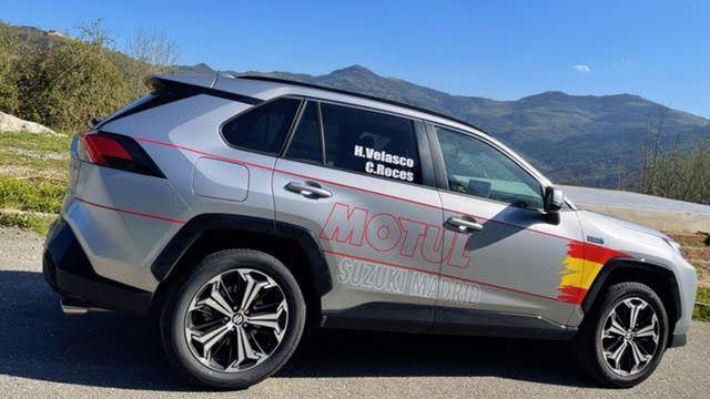 El nuevo modelo de Suzuki con el que competirán los dos asturianos en el Campeonato de España de Energías Alternativas
