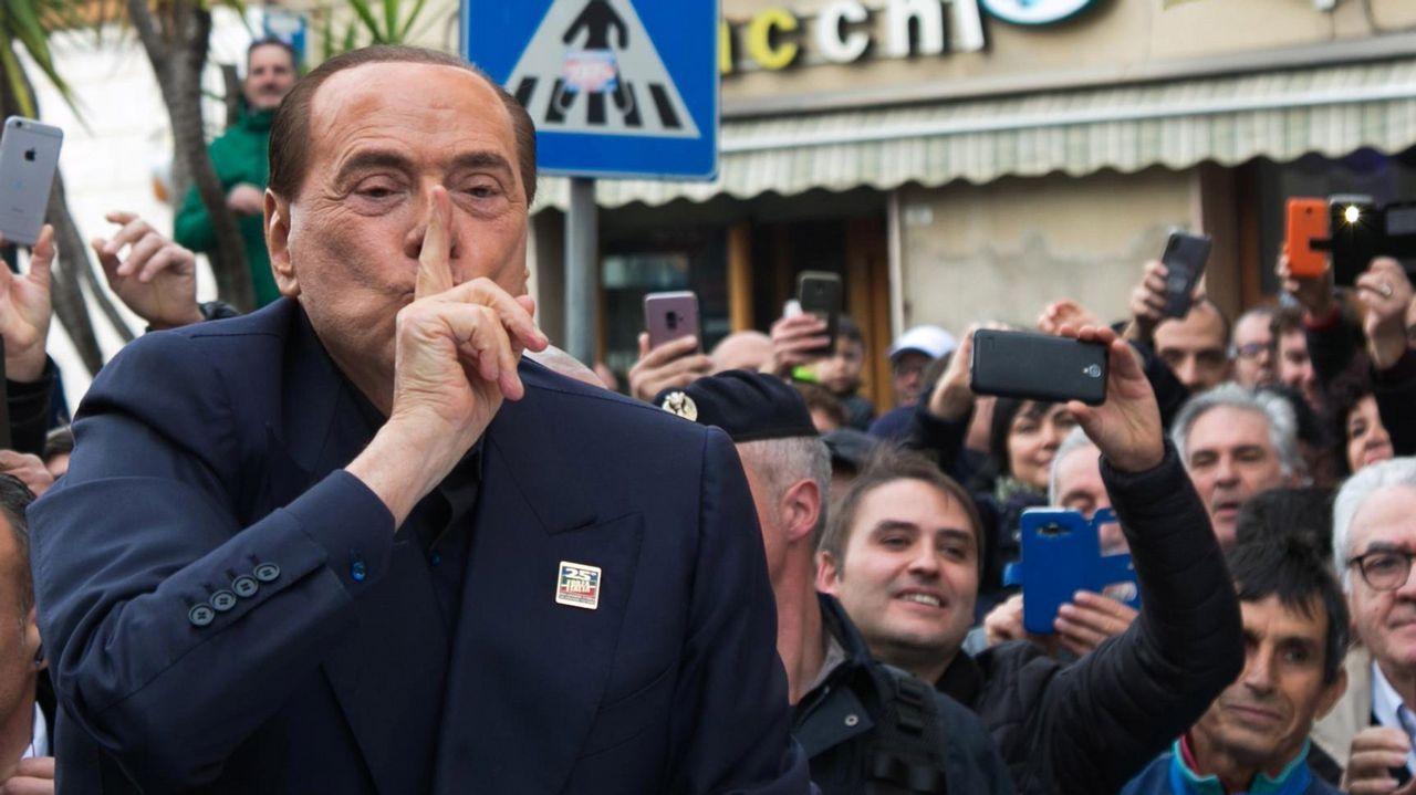 Silvio Berlusconi ya anunció su intención de presentarse a las elecciones europeas de mayo