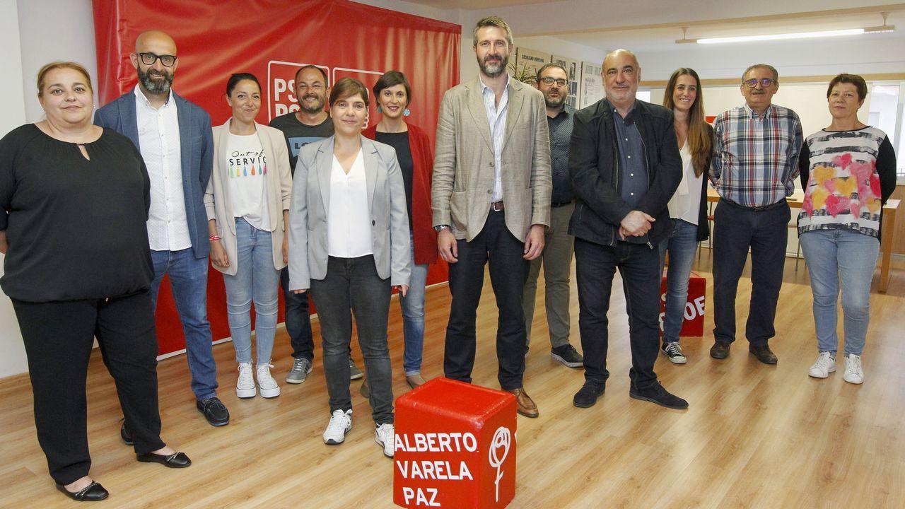 Alberto Varela presenta su nuevo equipo