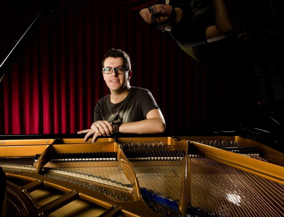 Javier Otero Neira actuará hoy en el Auditorio de Galicia.