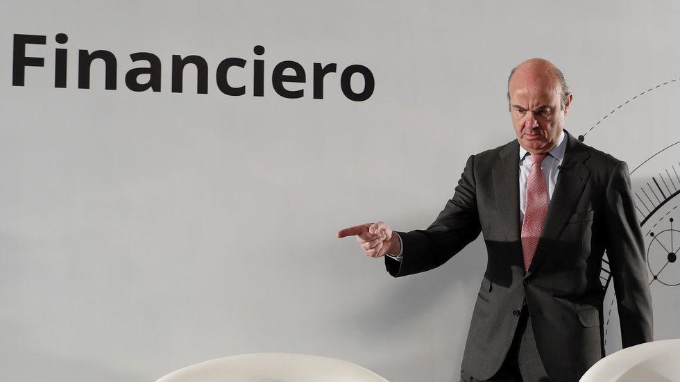 Rodrigo Rato, que en el 2011 era presidente de Bankia, en el momento de salida a bolsa de la entidad financiera.