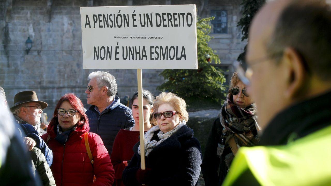 Asturias también estuvo en la movilización por el clima en Madrid.El presidente de Vox, Santiago Abascal, abandonando el Congreso de los Diputados tras la sesión de constitución de las Cortes