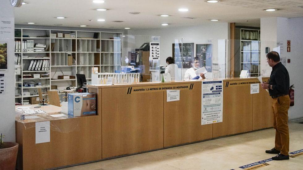 El centro de salud de Valle-Inclán recuperó la actividad habitual