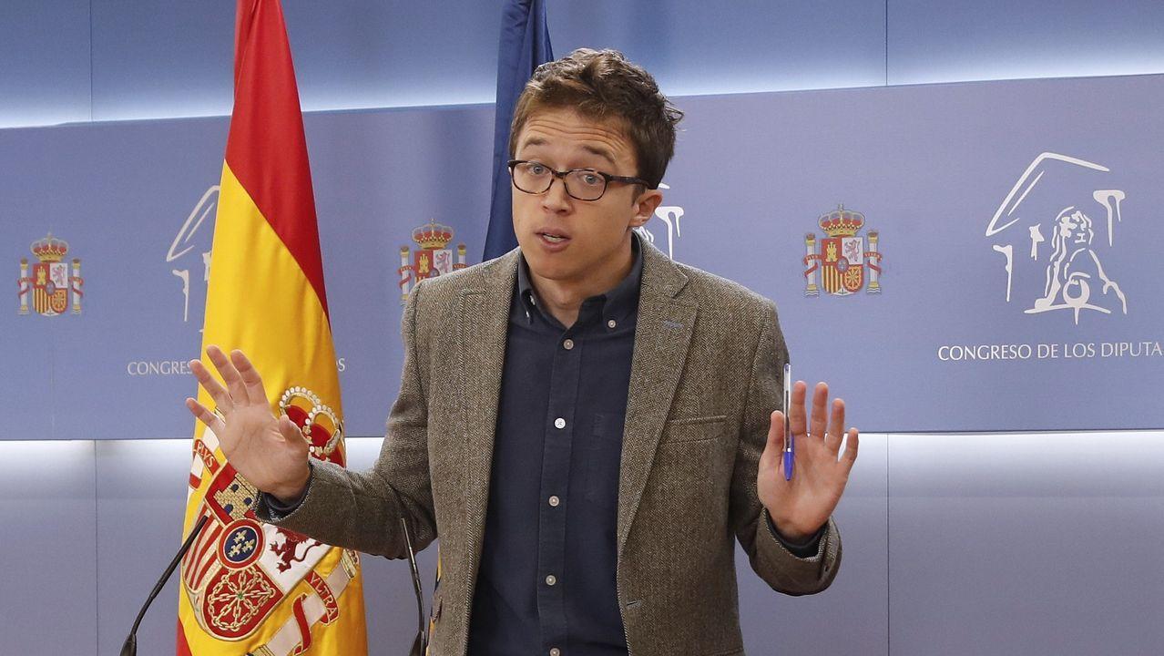 Iñigo Errejon, líder de Más País