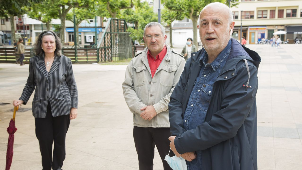 Imagen del debate electoral de las autonómicas del 2016. Luís Villares, Leiceaga, Feijoo, Ana Pontón y Cristina Losada
