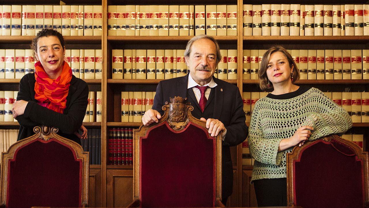 Cristina Pontón, Wenceslao López y Ana Taboada
