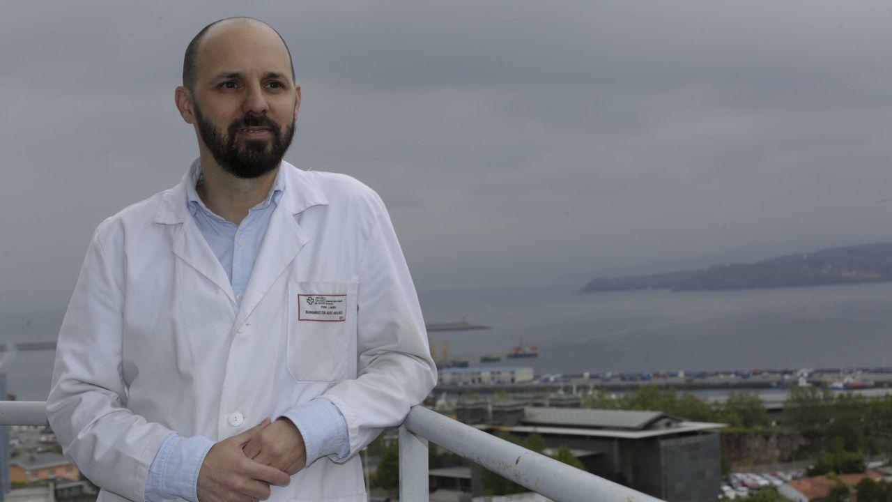 Pedro Marcos Rodríguez, neumólogo del Chuac y director médico de hospitalización y urgencias del área sanitaria de A Coruña y Cee