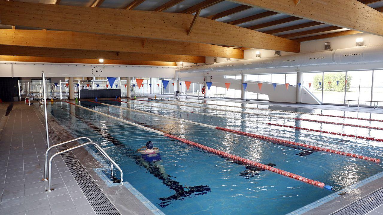 Reapertura de la piscina municipal de Cambados