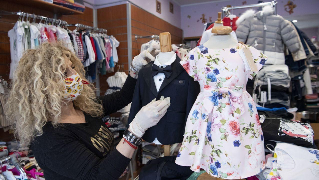 Las tiendas de ropa infantil reabrieron en Italia