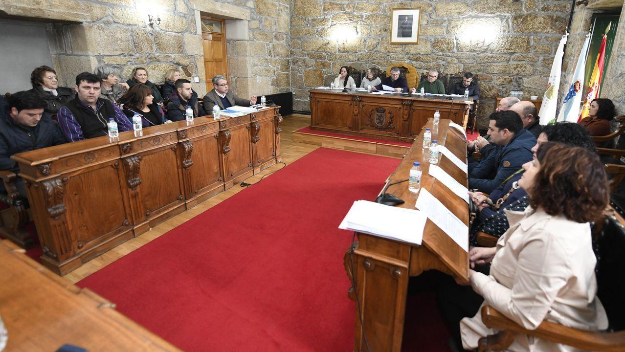 La construcción es uno de los pilares del empleo en la comarca de Pontevedra