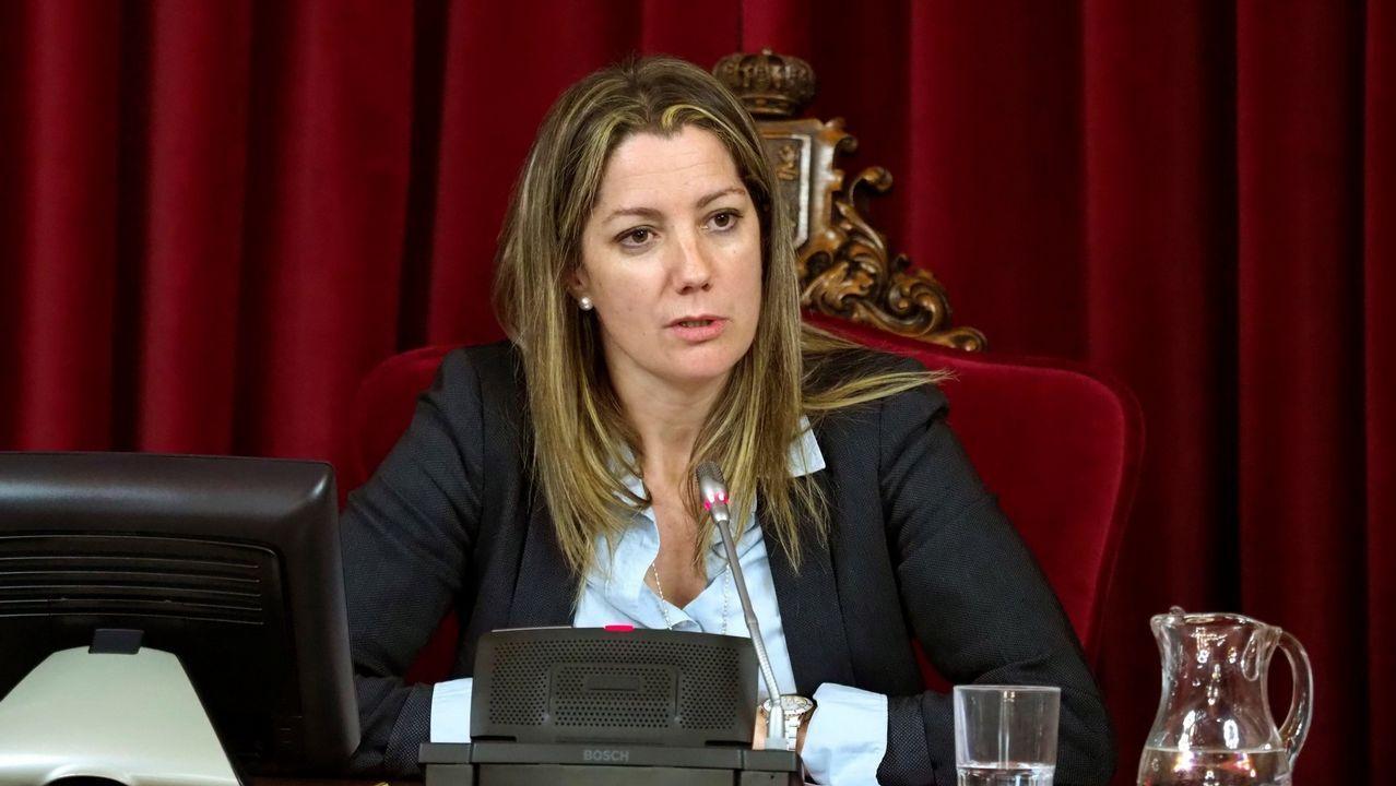De las siete grandes ciudades gallegas, solo Lugo tiene a una mujer como gobernante, Lara Méndez
